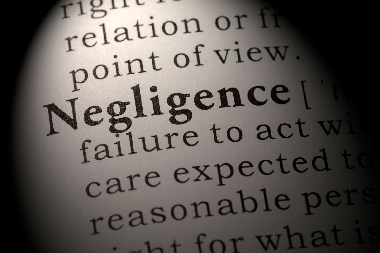 Providing Negligence